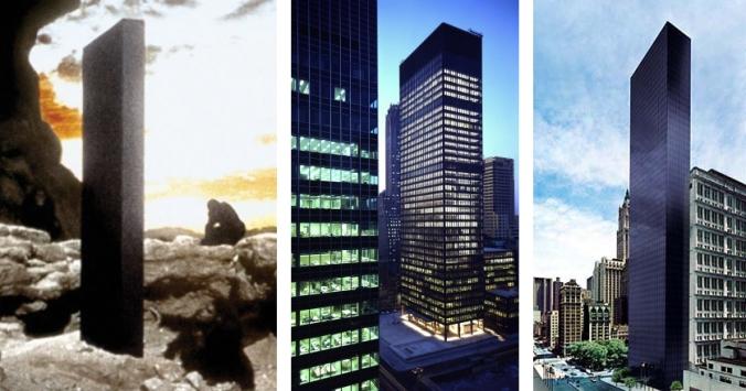Odissea nello spazio + grattacieli